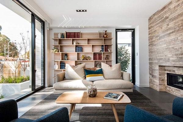 طراحی زیبای آپارتمانی در استرالیا