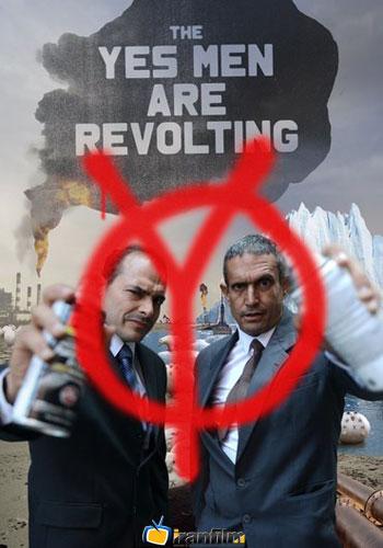 دانلود مستند The Yes Men Are Revolting