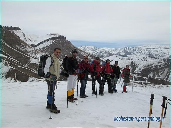 مسیر قله واریش