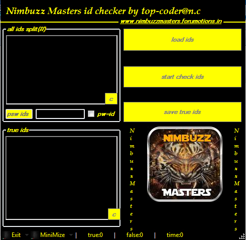 Nimbuzzmasters team id checker  2016 v 1.0   full speed New_Picture