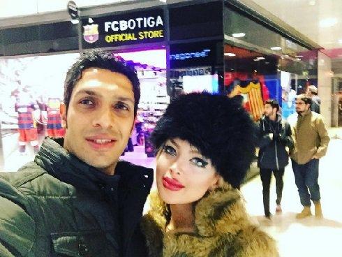 سپهر حیدری و همسرش در اسپانیا , اخبار ورزشی