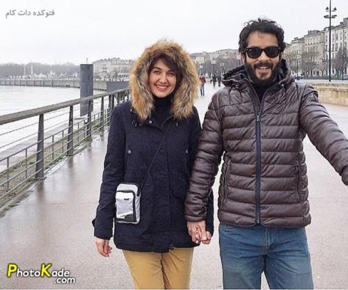 عکس جدید گلوریا هاردی بازیگر رها در کیمیا و همسرش ساعد سهیلی