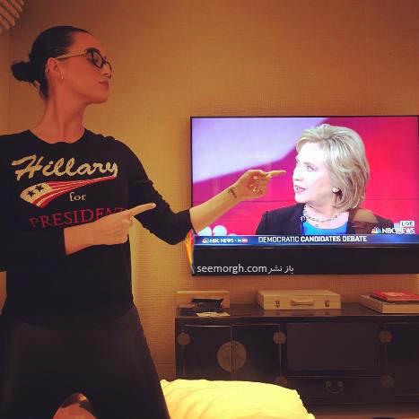 حمایت کیتی پری از هیلاری کلینتون! عکس , چهره های معروف