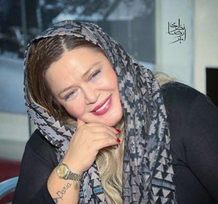خالکوبی کردن بهاره رهنما بر روی دستش , چهره های ایرانی