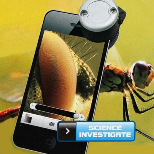 لنز میکروسکوپی موبایل