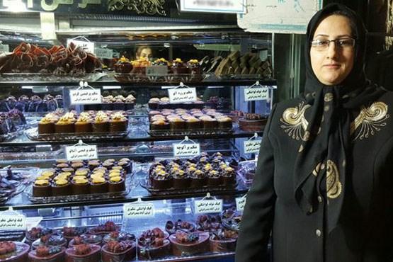 کیک لواشکی ای که این زن را پولدار کرد! + عکس , موفقیت