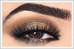 مدل های زیبای آرایش چشم زمستانه