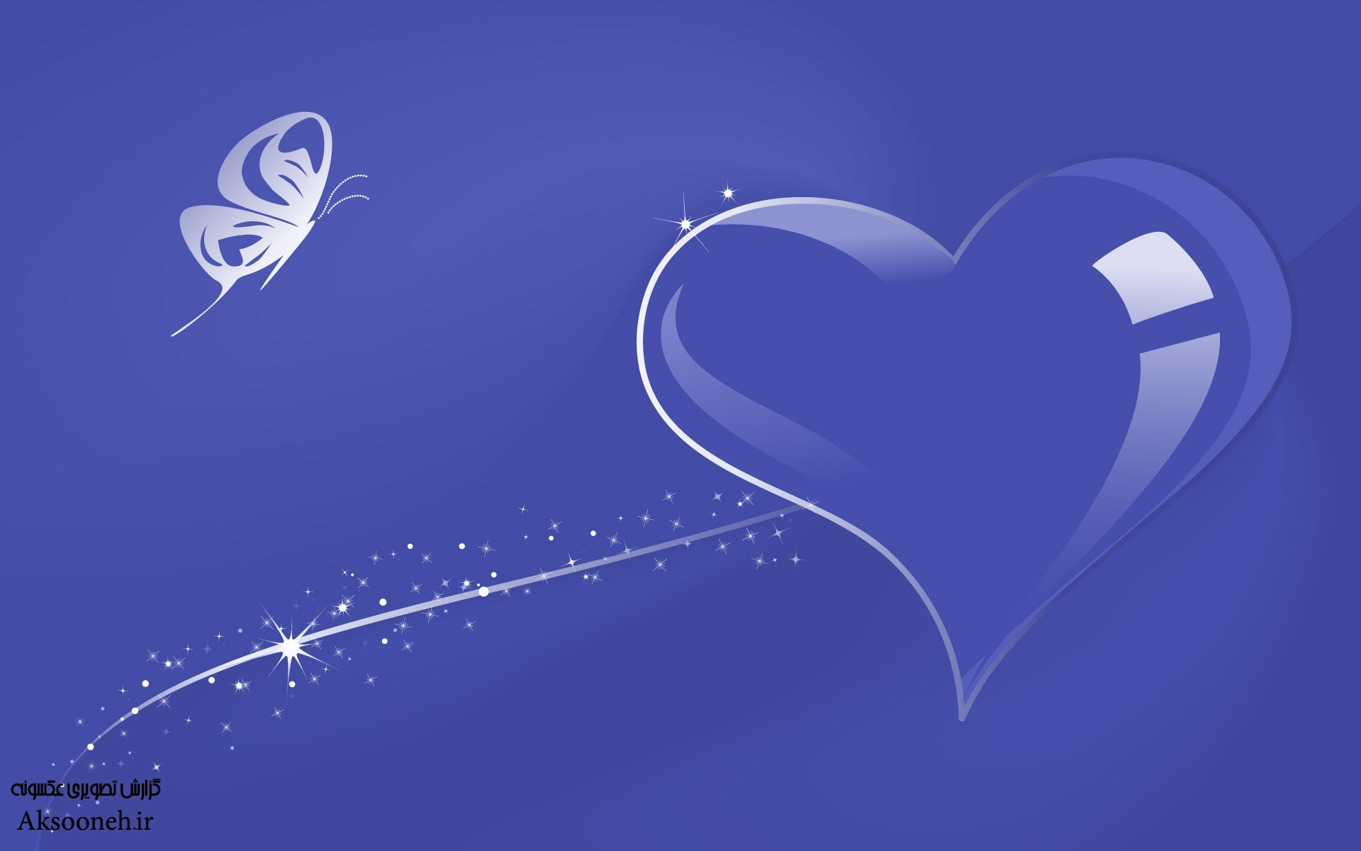 والپیپرهای عاشقانه زیبا از قلبهای فانتزی