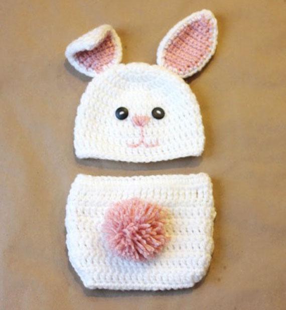 آموزش بافت کلاه خرگوشی
