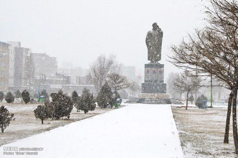 برف اردبیل