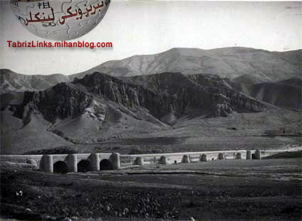 پلهای تبریز