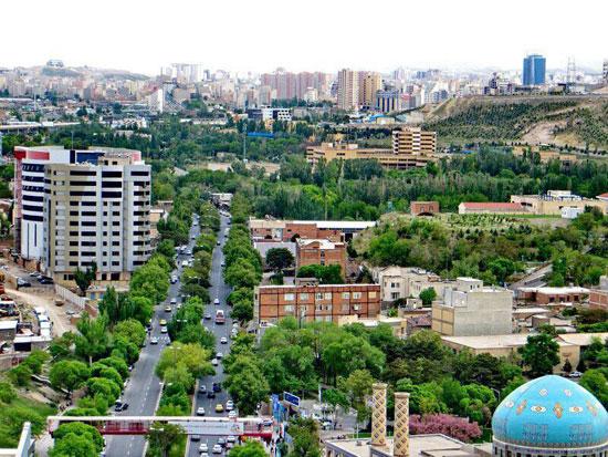 تبریز شهر نمونه گردشگری