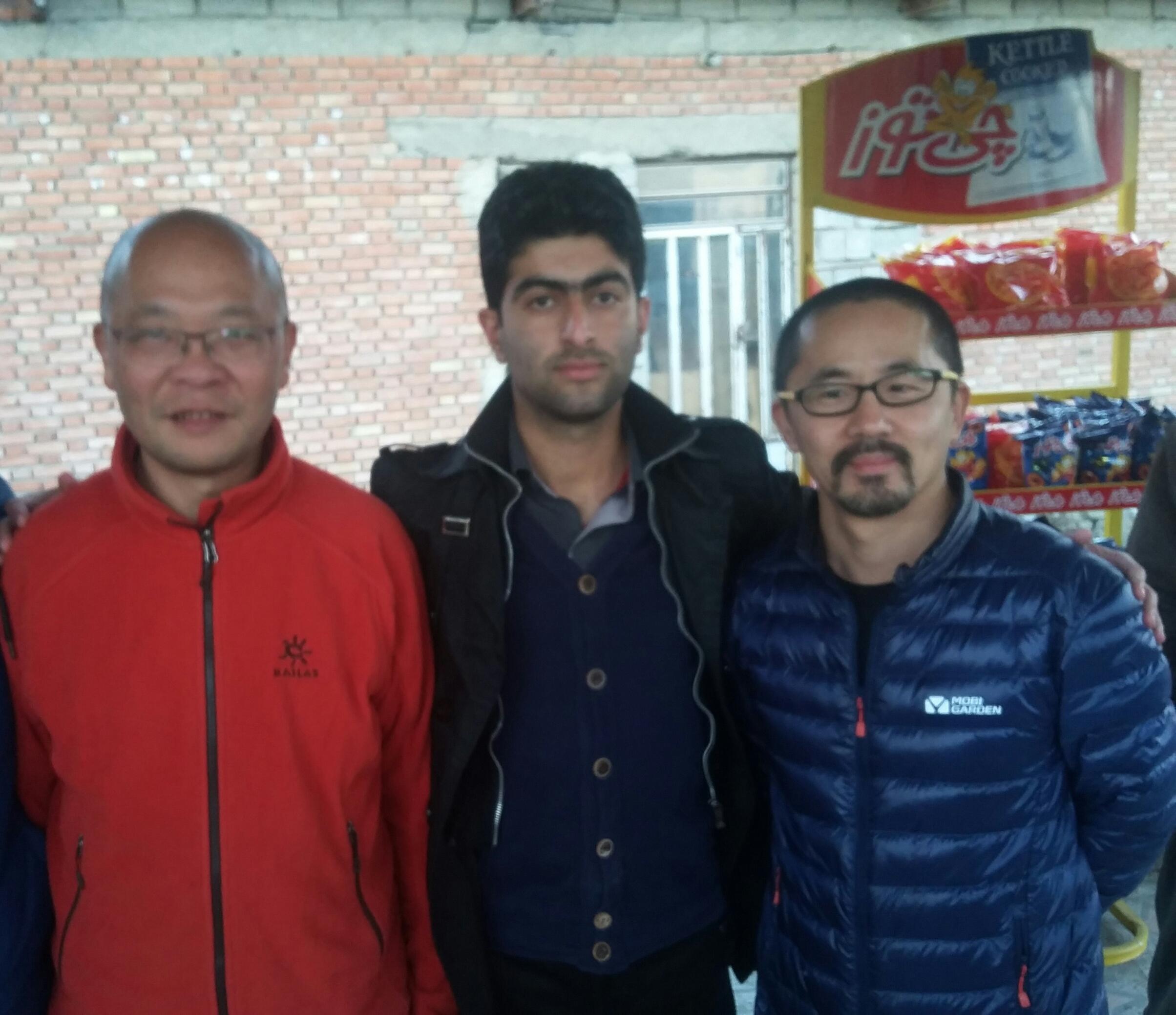 حضور گردشگران چینی در جوکندان!