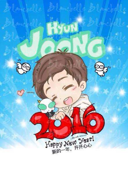 [Blancbelle Fanart] Happy New Year [2015.12.31]
