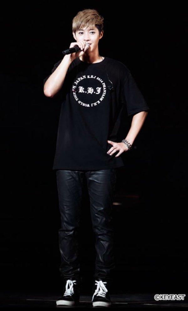 [Photo] Kim Hyun Joong Japan Mobile Site Update [2016.01.22]