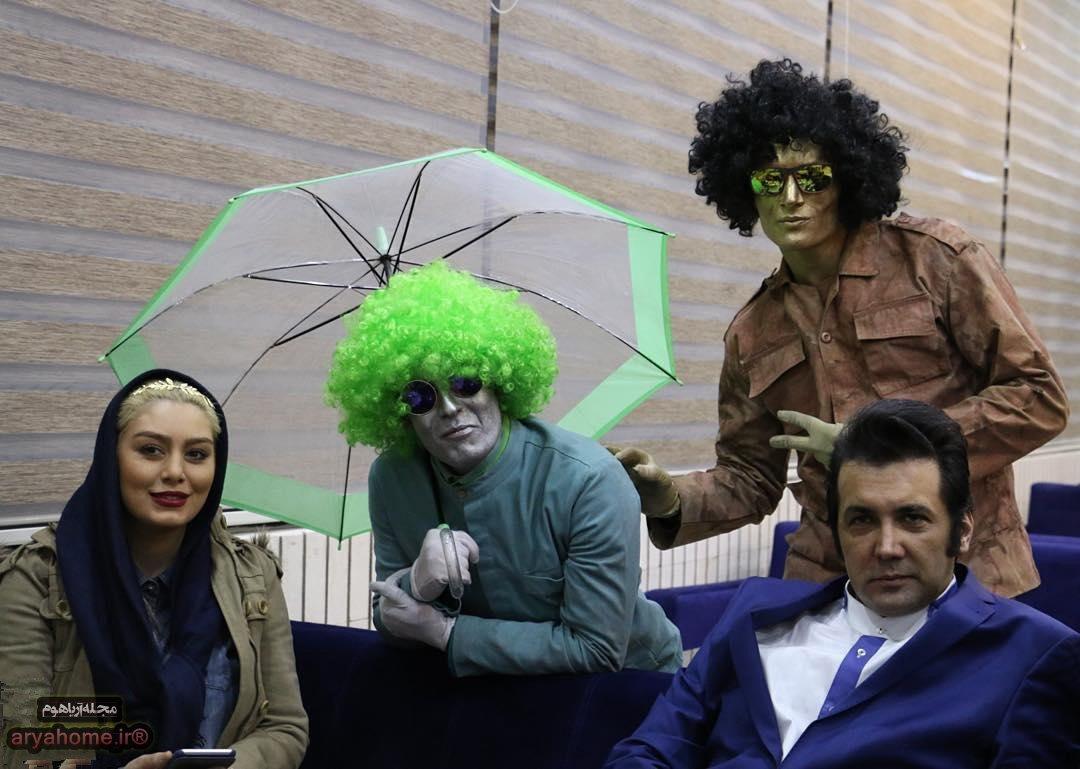 عکسهای سحر قریشی در اصفهان , عکس بازیگران