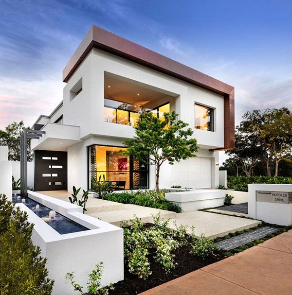 ویلایی با معماری جذاب