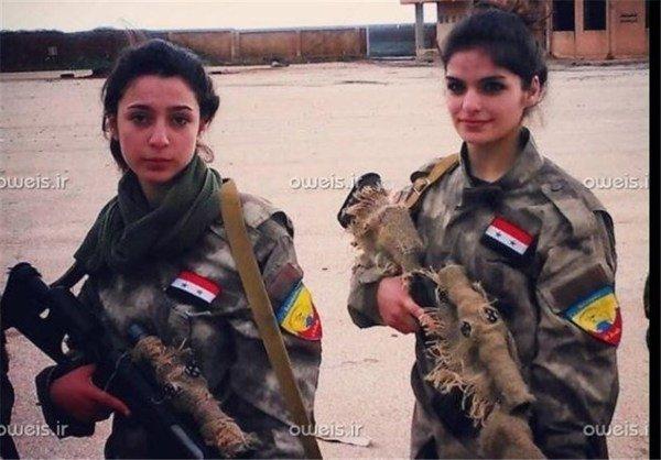 دختران تک تیرانداز ،بلای جدید جان داعش , بین الملل