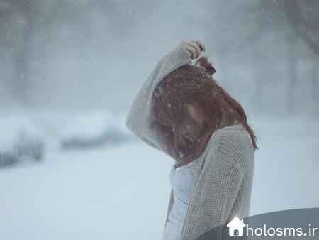 عکس دختر تنها - 1