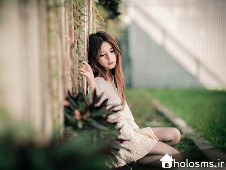 عکس دختر تنها - 9