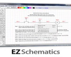 دانلود نرم افزار ۵٫۳٫۱۴ EZ Schematics + آموزش نصب