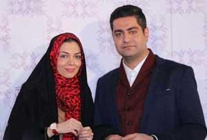 آزاده نامداری و همسر جدیدش در جشنواره فیلم فجر , چهره های ایرانی