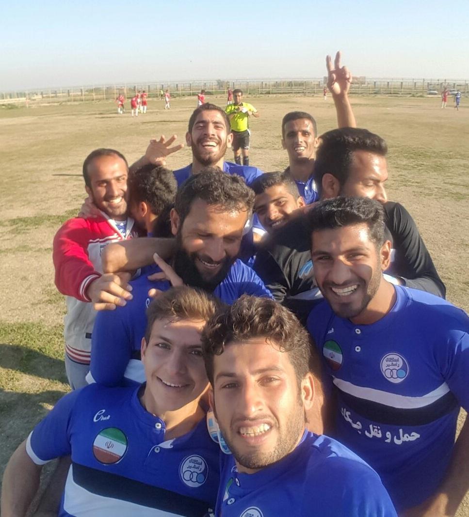 نتایج هفته بیست و سوم مسابقات فوتبال لیگ برتر بزرگسالان باشگاهی خوزستان در فصل 95/96