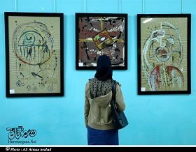 نمایشگاه نقاشی گروهی برقع