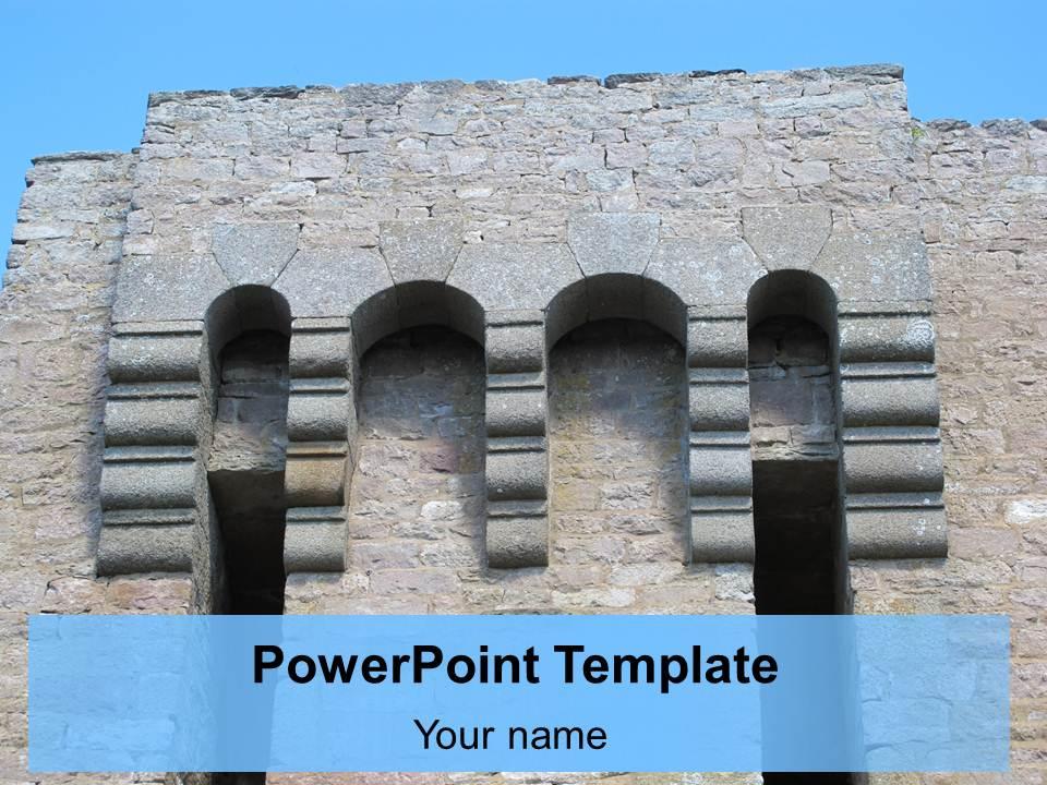 قالب پاورپوینت بناهای تاریخی