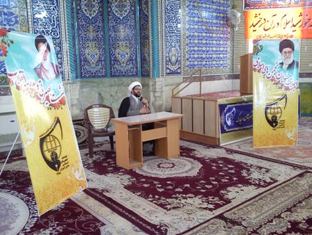 حضور انجمن اسلامی دانش آموزان شهرستان مبارکه در امامزاده سید محمد (ع)