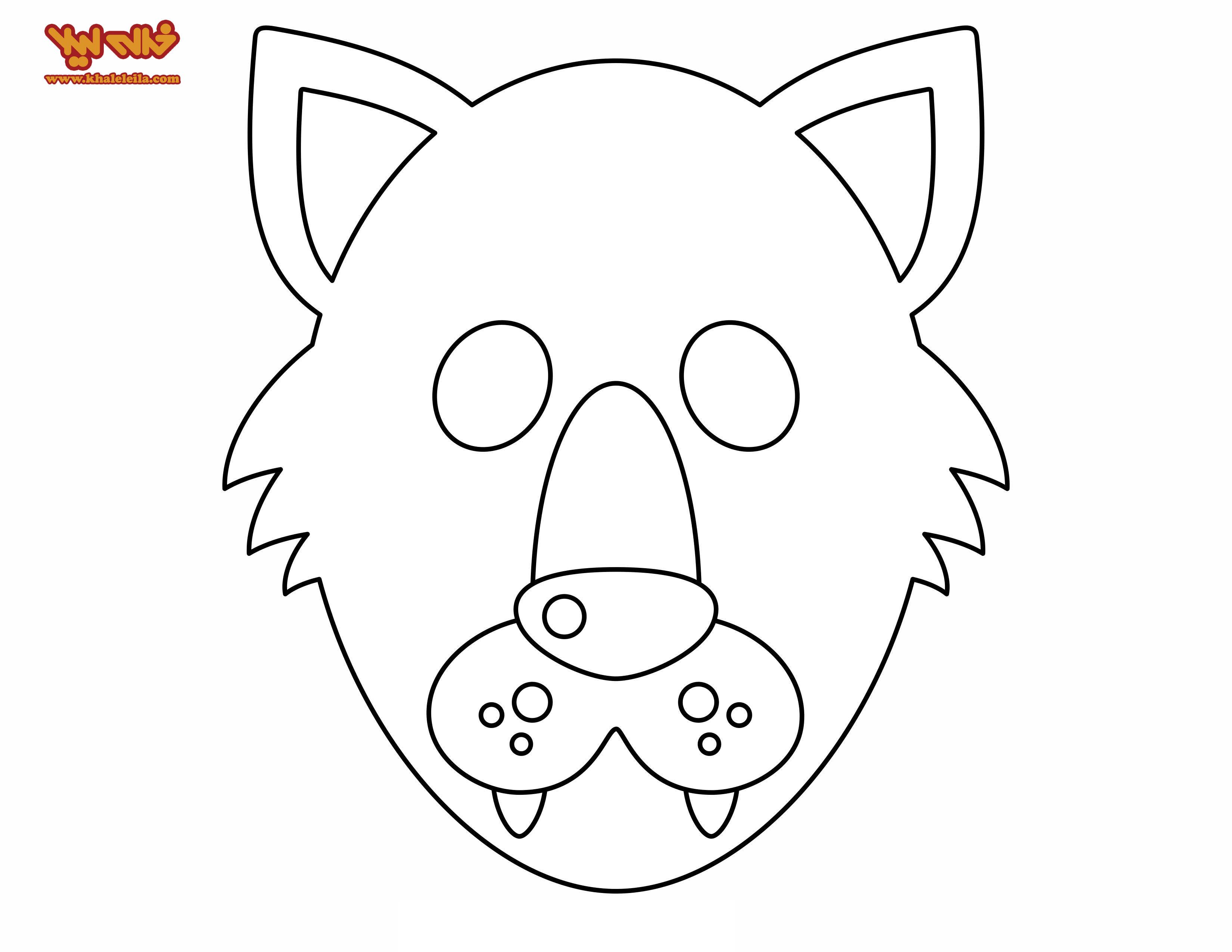 Как сделать маску волка из бумаги и картона СПРОСИ, КАК 1