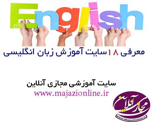 معرفی 18سایت آموزش زبان انگلیسی