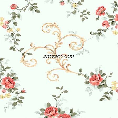 کاغذ دیوار جدید گلدار