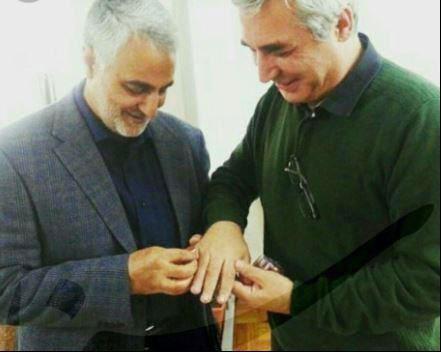 هدیه جالب سردار سلیمانی به حاتمی کیا , اجتماعی