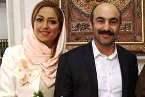 عکس مراسم عقد محسن تنابنده و همسرش روشنک , چهره های ایرانی