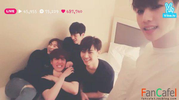 دانلود برنامه ی وی اپ گات سون GOT7 The Hotel Room 2 ♡ - ♡