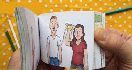 خواستگاری خلاقانه یک مرد از دوست دخترش , جالب وخواندنی