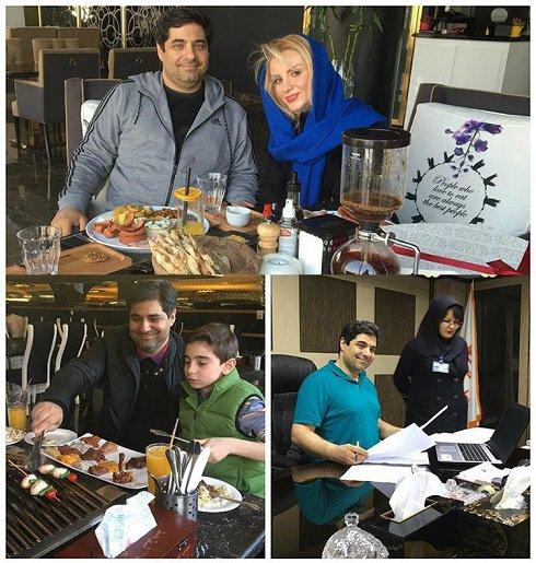 شهرام جزایری بعد از 13 سال حبس ! , اخبار گوناگون