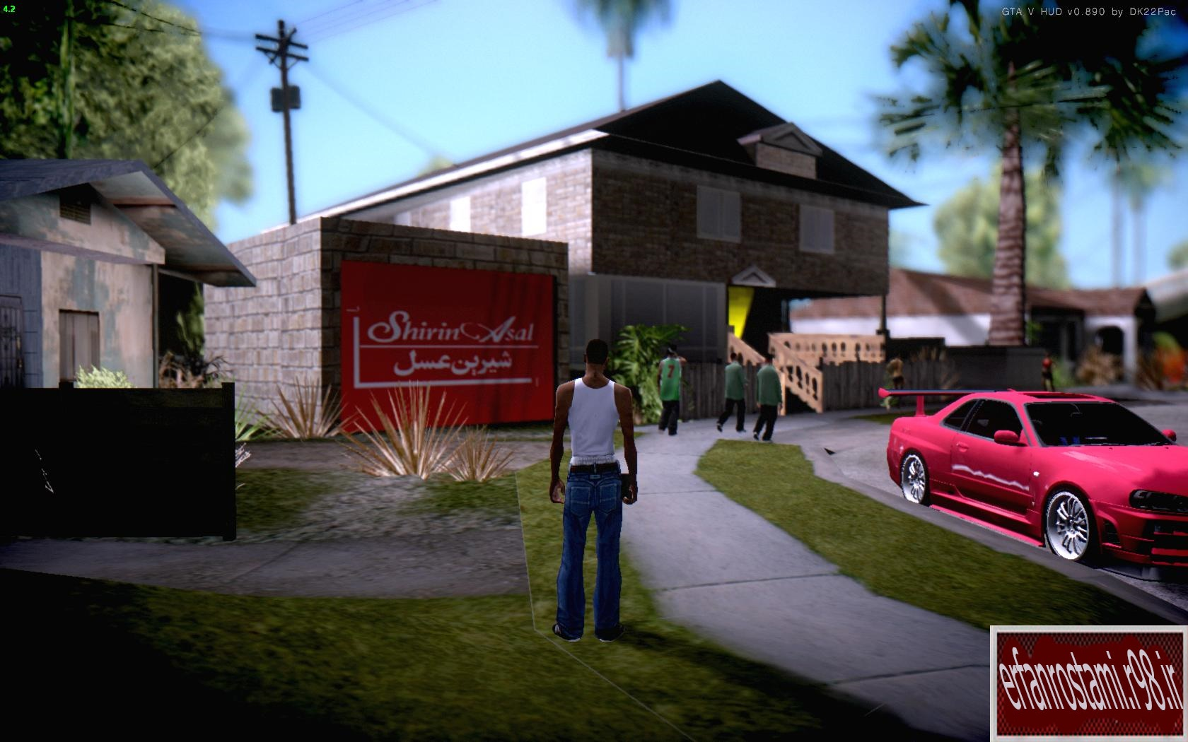 خانه ی ایرانی CJ برای بازی GTA SA