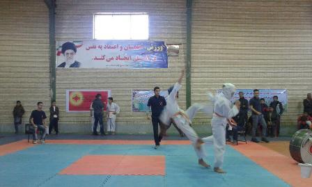 مسابقات کاراته در روداب