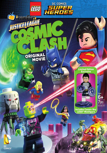دانلود انیمیشن Lego DC Comics Super Heroes: Justice League Cosmic Clash