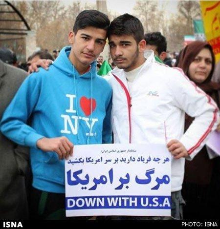 عکسی از 22 بهمن که سوژه خارجی ها شد , اجتماعی