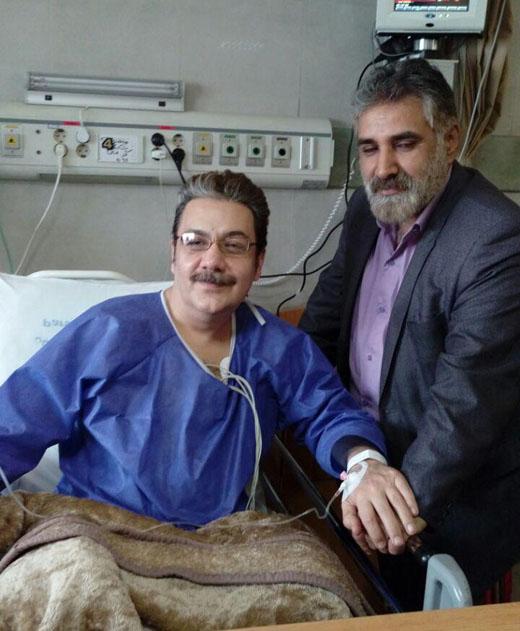 وضعیت حال عمومی رضا حسینزاده گوینده اخبار