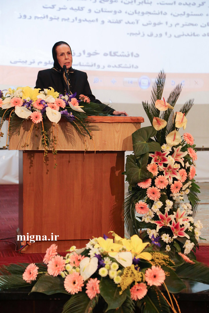 migna ir 41447w sharara1021 گزارش تصویری برگزاری مراسم نکوداشت دکتر مهرناز شهرآرای  روان شناس