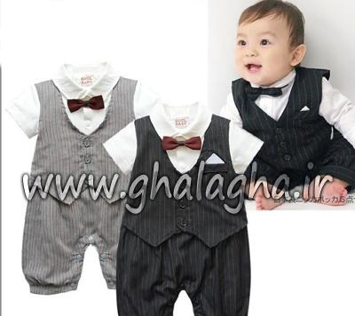 شیک ترین و جدیدترین لباس پسرانه از 6ماهگی تا 24ماهگی