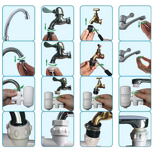 آموزش نصب دستگاه تصفیه آب