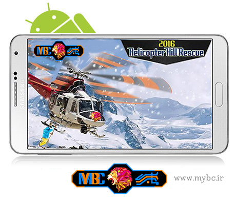 دانلود بازی Helicopter Hill Rescue 2016 1.4 – هلیکوپتر نجات برای اندروید