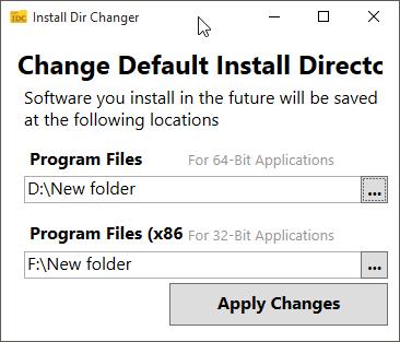 آموزش تغییر محل پیشفرض نصب برنامه ها در ویندوز 10,change default install location of programs in windows 10,ترفند,ویندوز 10,ریجستری ویندوز,نصب برنامه در ویندوز