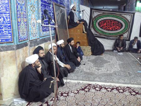 سخنرانی امام جمعه قهدریجان در جمع هیات مذهبی در مسجد بزرگ قهدریجان