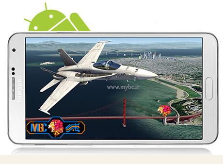 دانلود بازی Aerofly 2 Flight Simulator 2.3.19 – شبیه سازی هواپیما برای اندروید + دیتا